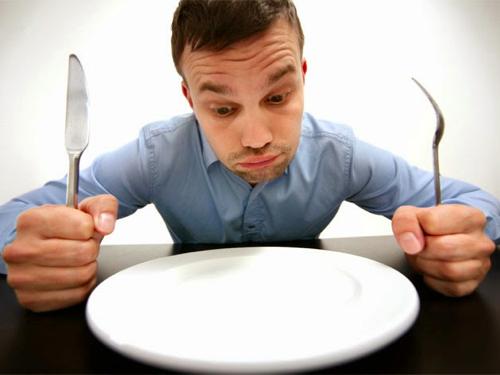 Eating nothing
