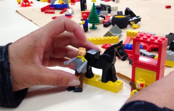 Lego serious play cavalo