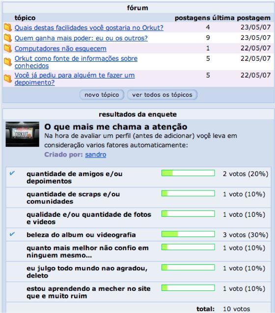 O Orkut mudou minha vida! Incorporando resultados de pesquisa social no design de interação