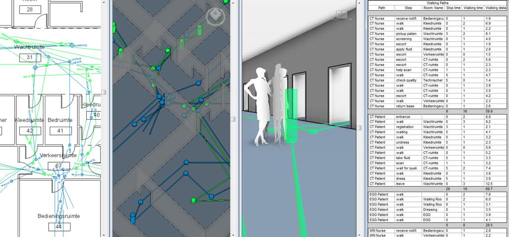 Autodesk Revit 2013 - Student Version - [Schedule Walking Paths - CMI_floor_pla_2012-11-07_11-35-20