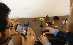 Filmando lego