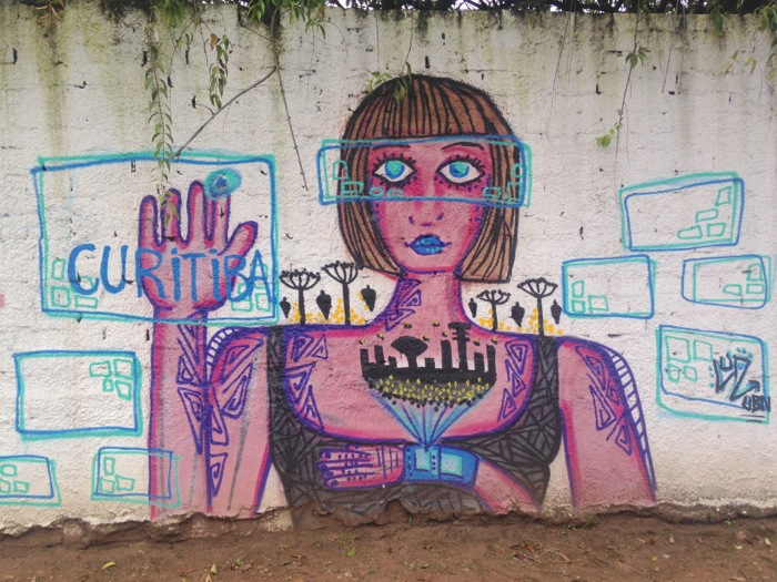 Curitiba realidade aumentada
