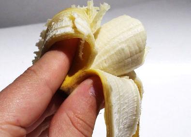 Banana no finalzinho