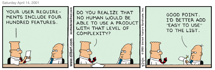 Dilbert easy to use