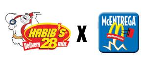 Habibs versus McDonalds