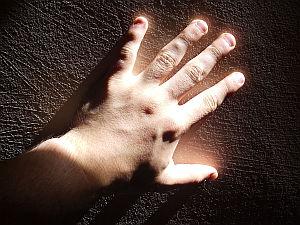 Mão de Frederick van Amstel