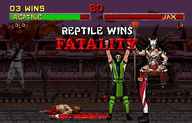 Fatality no Mortal Kombat