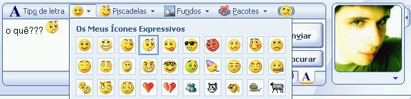 Emoticons do MSN