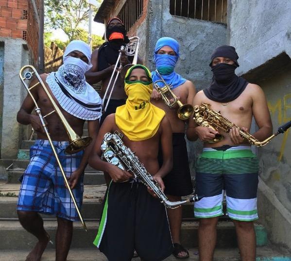 Musicos favela