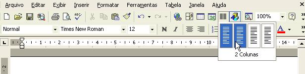 Office 2000 formatando colunas
