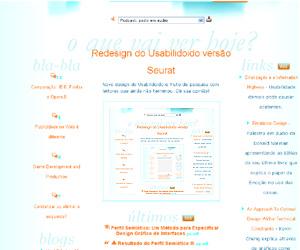 Uma foto da foto da foto do redesign Seurat