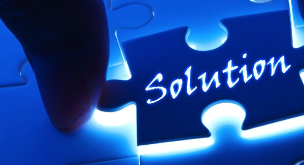 Solution puzzle banner