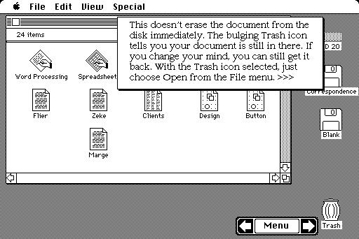 Lixeira no Mac OS